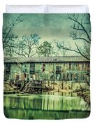 Kymulga Covered Bridge Duvet Cover