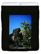 La Digue Island - Seychelles Duvet Cover