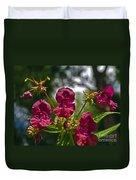 Lady Slipper Orchid Dan146 Duvet Cover