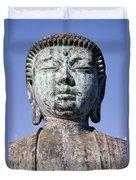 Lahaina, Buddha At Jodo  Duvet Cover
