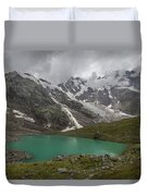 Lake Locce And Monte Rosa - Piedmont / Italy Duvet Cover