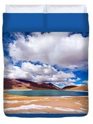 Lake Meniques In Chile Duvet Cover