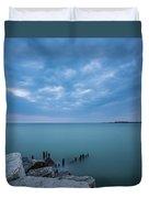 Lake Michigan Duvet Cover