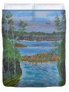 Lake Okahumpka Park Duvet Cover