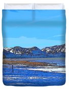 Lake Tahoe Duvet Cover