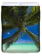 Lanikai Palm Tree Duvet Cover