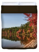 Late Afternoon On Lake Chocorua Duvet Cover