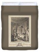 Le Roman Dangereux Duvet Cover