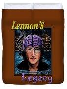 Lennon's Legacy Duvet Cover