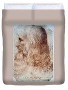 Leonardo Da Vinci Duvet Cover