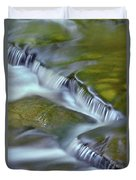 Letchworth Falls Sp Wolfe Creek Duvet Cover