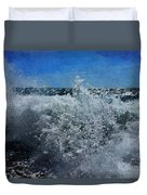 Levant Spray Duvet Cover by Julian Perry