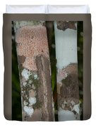 Lichen On The Trees At The Coba Ruins  Duvet Cover
