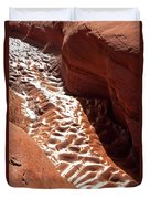 Light And Shadow In Mud Duvet Cover
