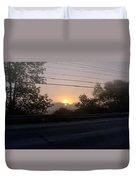 Lilac Dawn Duvet Cover
