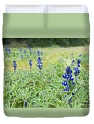 Lilac Flower In Green Canvas Spring Has Arrived 1 Duvet Cover