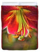 Lily Abstract Duvet Cover