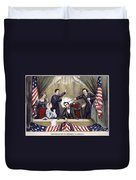 Lincoln Assassination Duvet Cover