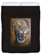 Lion Roar Duvet Cover