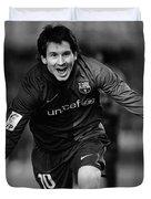Lionel Messi 1 Duvet Cover