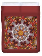 Liquidamber And Feathers Duvet Cover