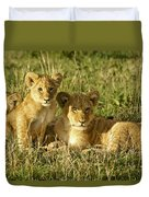 Little Lions Duvet Cover