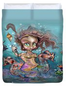 Little Mermaid Duvet Cover