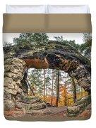 Little Pravcice Gate - Famous Natural Sandstone Arch Duvet Cover