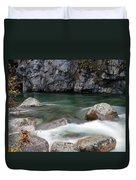 Little Susitna River Duvet Cover