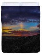 Lizard Point At Sunset  Duvet Cover
