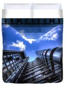 Lloyd's Of London And Cheese Grater Duvet Cover