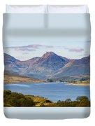 Loch Arklet And The Arrochar Alps Duvet Cover