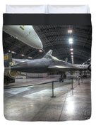 Lockheed, Yf-12a Duvet Cover