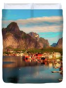 Lofoten, Norway Duvet Cover