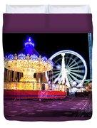 London Christmas Markets 15 Duvet Cover
