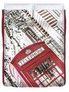 London Telephone 3b Duvet Cover