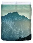 Lone Pine Peak Duvet Cover