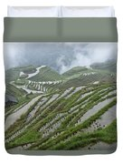 Longsheng Rice Terraces Duvet Cover