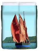 Looe Lugger 'our Daddy' Duvet Cover