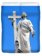 Looking To Heaven Duvet Cover