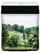 Looking Up At Little Round Top Duvet Cover