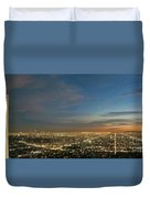 Los Angeles City Of Angels Duvet Cover