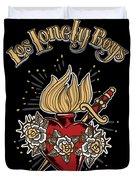 Los Lonely Boys Duvet Cover