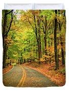 Lost In Pennsylvania - Paint Duvet Cover