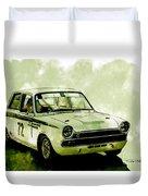 Lotus Cortina Duvet Cover