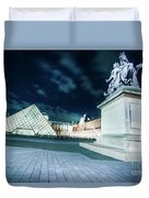 Louvre Museum 6b Art Duvet Cover