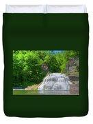Lower Falls 0485 Duvet Cover
