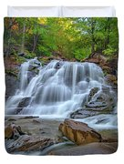 Lower Kaaterskill Falls Duvet Cover