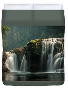 Lower Lewis Falls Duvet Cover by Blanca Braun