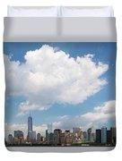 Lower Manhattan Duvet Cover